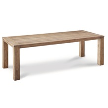 Best Teak-Tisch Moretti 240x100cm grey-wash