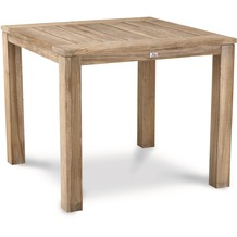 Best Teak-Tisch Moretti 90x90cm grey-wash