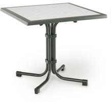 Best Tisch Boulevard Quadrat 80x80cm anthr. Gartentisch