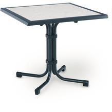 Best Tisch Boulevard Quadrat 80x80cm blau Gartentisch
