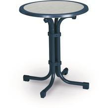 Best Tisch Boulevard rund 60cm Ø blau Gartentisch