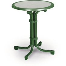 Best Tisch Boulevard rund 60cm Ø grün Gartentisch