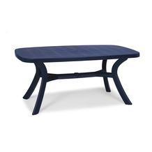 Best Tisch Kansas oval 192x105cm blau Gartentisch