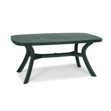Best Tisch Kansas oval 192x105cm grün Gartentisch