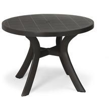 Best Tisch Kansas rund 100cm Ø anthrazit Gartentisch