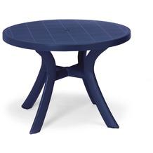 Best Tisch Kansas rund 100cm Ø blau Gartentisch