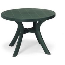 Best Tisch Kansas rund 100cm Ø grün Gartentisch