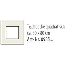 Best Tischdecke eckig 80x80cm grün-marm.