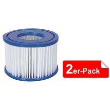 Bestway Filterkartuschen Größe VI für Lay-Z-Spa, 10,60x8,0 cm 2er set (58323)