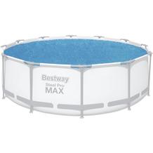 Bestway Flowclear Solarabdeckplane Ø 356 cm, blau (58242)