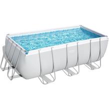Bestway Power Steel Frame Pool Komplett-Set,  412 x 201 x 122 cm (56457)
