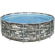 Bestway Power Steel Frame Pool Komplett-Set, 427 x 122 cm (56993)