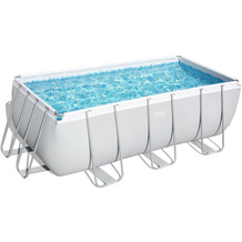 Bestway Power Steel™ Frame Pool Komplett-Set,  412 x 201 x 122 cm (56457)