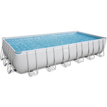 Bestway Power Steel Frame Pool Komplett-Set,  732 x 366 x 132 cm (56475)