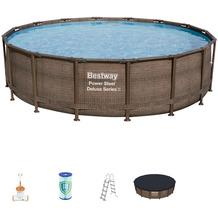 Bestway Power Steel™ Frame Pool Komplett-Set,  488 x 122 cm (56666)