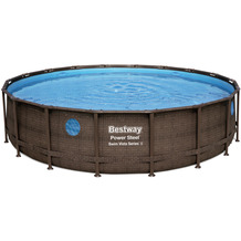 Bestway Power Steel Swim Vista Series™ Frame Pool Komplett-Set,  549 x 122 cm (56977)