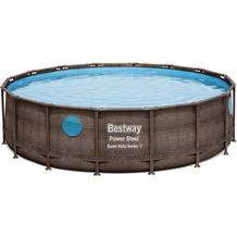 Bestway Power Steel Swim Vista Series™ Frame Pool Komplett-Set,  488 cm x 122 cm (56725)