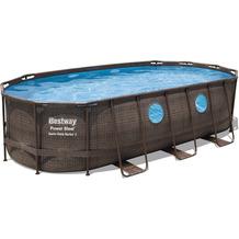 Bestway Power Steel Swim Vista Series™ Frame Pool Komplett-Set,  549 x 274 x 122 cm (56716)