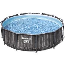 Bestway Steel Pro Max Frame Pool Komplett-Set, 366 x 100 cm (5614X)