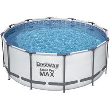 Bestway Steel Pro Max Frame Pool Komplett-Set, 366 x 122 cm (56420)