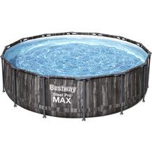 Bestway Steel Pro Max Frame Pool Komplett-Set, 427 x 107 cm (5614Z)