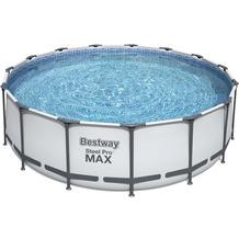 Bestway Steel Pro Max Frame Pool Komplett-Set,  457 x 122 cm (56438)