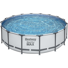 Bestway Steel Pro Max Frame Pool Komplett-Set, 488 x 122 cm (5612Z)