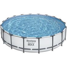 Bestway Steel Pro Max Frame Pool Komplett-Set, 549 x 122 cm (56462)