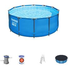 Bestway Steel Pro Max™ Frame Pool Komplett-Set, 366 x 122 cm (56420)