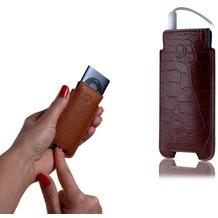 BeyzaCases VSL18 Slim Line, für iPod nano 4G, Croco Braun