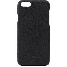 BeyzaCases Feder, Lederclip für iPhone 6, 7, 8, schwarz