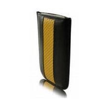 BeyzaCases Road Line Slim, für iPod touch 3G & 2G, Schwarz-Gelb
