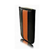 BeyzaCases Road Line Slim, für iPod touch 3G & 2G, Schwarz-Orange
