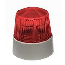 Bezet Rufsignal Blitz Typ 840, rot, optische Rufanzeige, Abdeckung (Lichtfilter) rot, IP 54