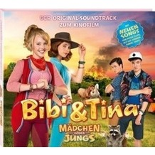 """Bibi und Tina. Der Soundtrack zum 3. Kinofilm """"Mädchen gegen Jungs"""" Hörbuch"""