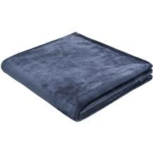Biederlack Arctic Shine De. dunkelblau 150x200