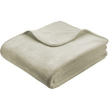 Biederlack De Luxe sand 150x200