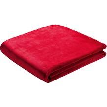 Biederlack Decke red simply good 130 x 170 cm