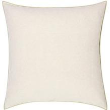 Biederlack Kissen mit Füllung Kissen Lime Cushion farbige Umkettelung 50 x 50 cm