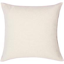 Biederlack Kissen ohne Füllung Kissen Blush Cushion farbige Umkettelung 50 x 50 cm
