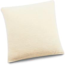 Biederlack Kissen ohne Füllung natur 50 x 50 cm