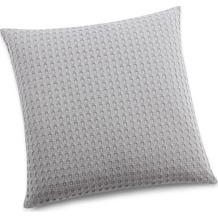 Biederlack Kissen ohne Füllung  Pillow grey 50 x 50 cm