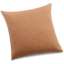 Biederlack Kissen ohne Füllung  Pillow ochre 50 x 50 cm