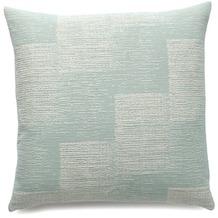 Biederlack Kissen ohne Füllung Soft Impression bleu innenliegende Naht 50 x 50 cm