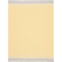 Biederlack Kuscheldecke Wohndecke Franse Bright Day 150 x 200 cm, gelb