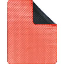 Biederlack Picknickdecke gewebtes Polyester-Band Picnic coral 130 x 170 cm