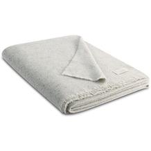 Biederlack Plaid / Decke grey 130 x 170 cm