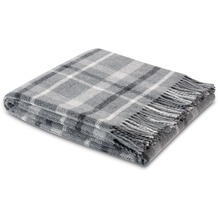 Biederlack Plaid / Decke Square Wool 130 x 170 cm