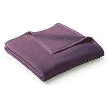 Biederlack Plaid / Decke Uno Cotton holunder 150 x 200 cm