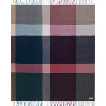 Biederlack Plaid / Decke Variat. purple 130 x 170 cm